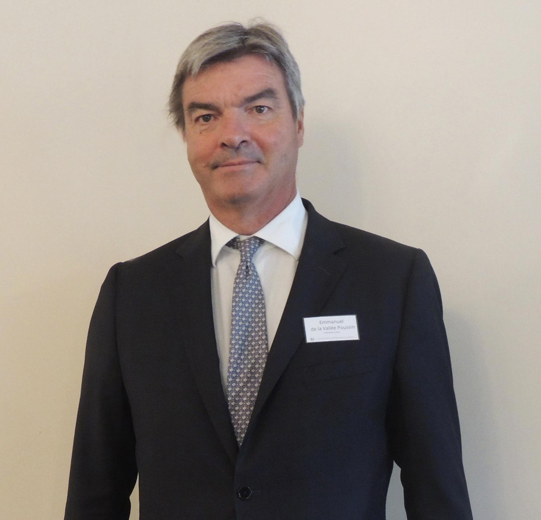 M. Emmanuel de la VALLEE POUSSIN