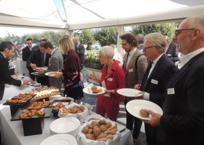 buffet dejuner conference paul bulcke